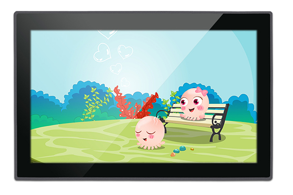 10.1 Inch Zero Bezel PCAP Touch Panel Industrial PC